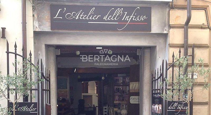 L'atelier dell'infisso falegnameria Bertagna