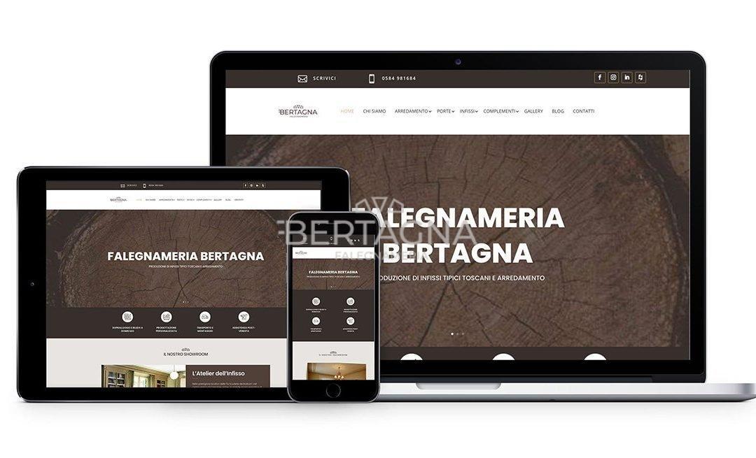 Il nostro nuovo sito web: bertagnafalegnameria.it si rinnova!